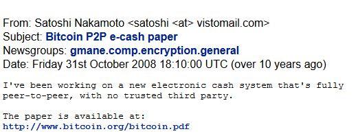 bitcoin e satoshi
