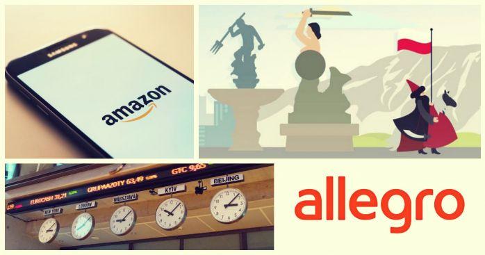 Amazon Polska Rozpoczal Dzialalnosc Bez Fajerwerkow Wiec Akcje Allegro Drozeja