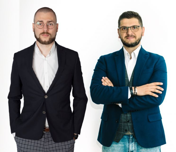 Wojciech Stawiarski i Paweł Biedrzycki